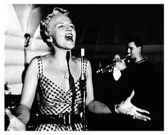 Peggy Lee... i miss music's simplicity of a microphone and vocal chords.