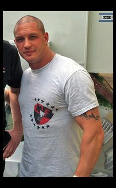 Tom Hardy - this guy can play any character and keep you on the edge of your seat