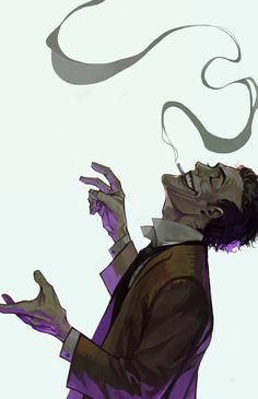 The Joker - fan art Le Joker Batman, Joker Comic, Joker Pics, Joker Art, Joker And Harley Quinn, Marvel Vs, Marvel Dc Comics, Comic Books Art, Comic Art