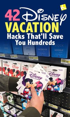 Disney Vacation Hacks That Will Save You Hundreds Here are all the secrets I discovered when I was Disney vacation planning! These vacation hacks saved me hundreds. I saved big on park admission and meals, skipped the lines and came home with amazing (and Voyage Disney World, Viaje A Disney World, World Disney, Disney World Tipps, Disney World Tips And Tricks, Disney Tips, Disney World Cheap, Disney Parks, Birthday At Disney World