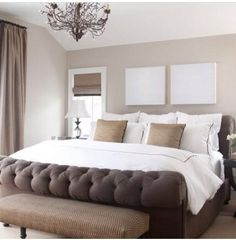 Love A Cream And Brown Bedroom Traditional Design Dream