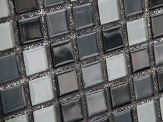 Bright Tile Grout Color Trends, 21 Modern Tile Designs sparkling mosaic tile grout Glitter Grout with Black/silver/white tiles Glitter Grout, Glitter Bathroom, Glitter Eyeshadow, Tile Grout, White Tiles, Bath Remodel, Kitchen Remodel, Tile Design, Home Interior