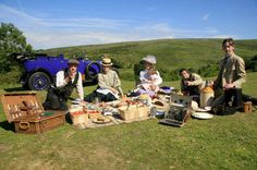 Have your own Downton Abbey adventure with a Country House Hideout picnic
