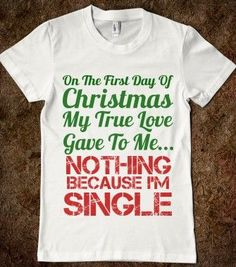 Funny Quotes About Being Single At Christmas Funny Quotes