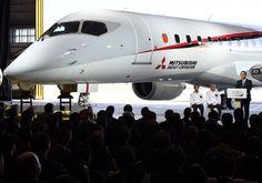 初の国産ジェット旅客機「MRJ」を初公開 写真13枚 国際ニュース:AFPBB News