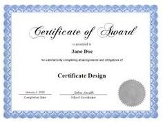 1000 images about certificate design on pinterest for Google docs award certificate template