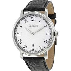 Feel the Luxury #Montblanc #Luxury #Leather #Original #Freeshipping #Upto 20%OFF #112633 #Two international years warranty https://feeldiamonds.com/swiss-luxury-watches-for-men-women/mont-blanc-watches-offers-online/mont-blanc-112633-tradition-date-white-guilloche-dial-black-leather-mens-watch