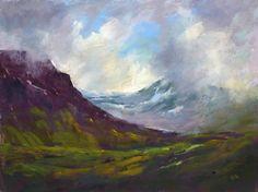 Islande Art paysage dramatique originale par KarenMargulisFineArt