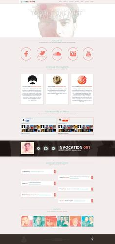Gabriele Poso - Web Design by Shizoy on deviantART