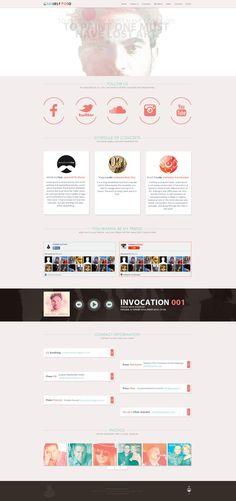 Gabriele Poso - Web Design by Shizoy on deviantART