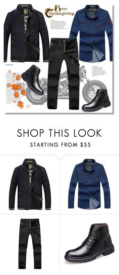 """""""Untitled #397"""" by andrea2andare ❤ liked on Polyvore featuring Harley-Davidson, men's fashion and menswear"""