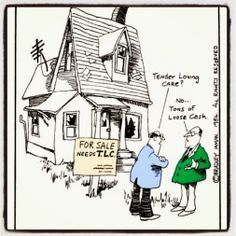 When reading descriptions of real estate listings it is important to be able decipher what the terminology really means. :-)