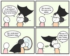 Do I Have Dracula Biting On My Head? by ben - A Member of the Internet's Largest Humor Community Memes Humor, Haha Funny, Lol, Funny Stuff, Funny Things, Random Stuff, Funny Shit, Random Things, Random Humor