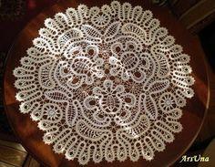 Брюггские кружева / Bruges crochet lace finished