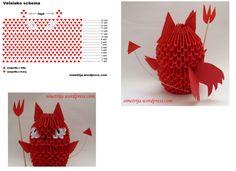 「3D Origami Velniukas」の画像検索結果