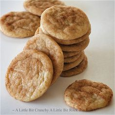 The Best Snickerdoodle Cookies... Ever. Recipe from A Little Bit Crunchy A Little Bit Rock and Roll #dessert