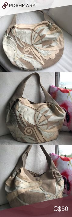 LUCKY BRAND butterfly shoulder bag LUCKY BRAND butterfly shoulder bag      Tan, cream, minty blue      Suede and leather combination     Beautiful stitch work     Zipper pocket and open pocket inside the bag  Very beautiful bohemian bag perfect for summer and fall Lucky Brand Bags Shoulder Bags Bohemian Bag, Blue Suede, Lucky Brand, Shoulder Bags, Butterfly, Fashion Tips, Fashion Trends, Zipper, Pocket