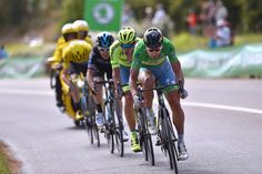 Peter Sagan (Tinkoff) drive the breakaway on stage 11