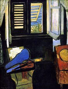 Henri Matisse - Interior with a Violin