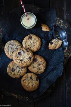Cookies au chocolat et fleur de sel