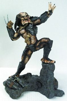 "Predator 12"" Resin Limited Edition Statue Predator http://www.amazon.com/dp/B002W5K5B0/ref=cm_sw_r_pi_dp_LnbFub1Z4GED8"
