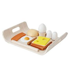 Amazon.com: Plan Toys Breakfast Menu (Solid Wood Version): Toys & Games
