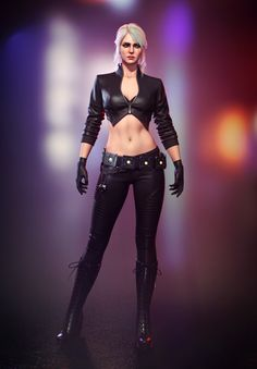 Cyberpunk Girl, Arte Cyberpunk, Cyberpunk Character, Cyberpunk 2077, Ciri Witcher, Witcher Art, The Witcher Wild Hunt, The Witcher 3, Fantasy Female Warrior