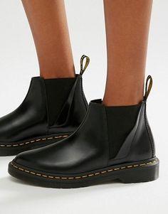 Dr Martens Bianca Black Chelsea Boots