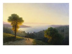 A View of the Bosphorus from the European Side Above the Palace of the Dolmabache, the Seraglio… Giclee Print by Ivan Konstantinovich Aivazovsky at Art.com