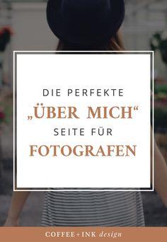 Anleitung Über Mich Seite für Fotografen