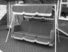 5dfeb61a45 A swing seat from in the 1950s - as good as the day it was first