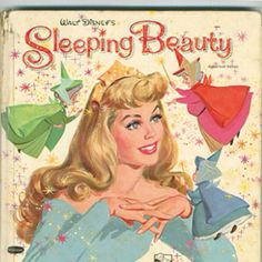 Sleeping Beauty...I loved the images in this book...especially the three fairy godmothers