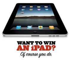 Win een IPAD