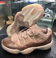 560b803c4ae6 Air Jordan 11 Low Rose Gold - Sneaker Bar Detroit Gold Sneakers, Best  Sneakers,
