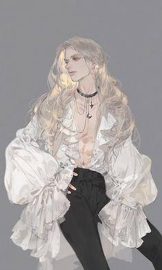 Male Character, Fantasy Character Design, Character Design Inspiration, Character Outfits, Handsome Anime Guys, Cute Anime Guys, Dark Anime Guys, Anime Boys, Pretty Art