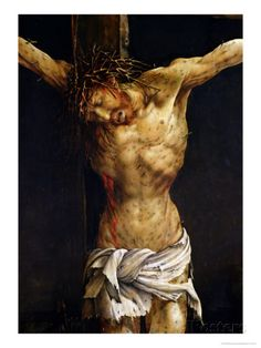 Isenheim Altarpiece Detail | ... Detail from the Central Crucifixion Panel of the Isenheim Altarpiece