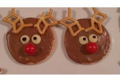 No Bake Rudolph Biscuits - Real Recipes from Mums