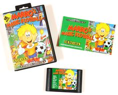 Sega Mega Drive Spiel Markos Magic Football in OVP