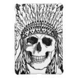 Native skull face art iPad mini covers #halloween #happyhalloween #halloweenparty #halloweenmakeup #halloweencostume