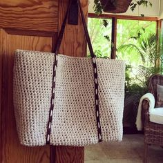 Because you can never have too many bags! #woolandthegang #shareyourknits #thehandbagqueen #madebyhand #mixtapeyarn