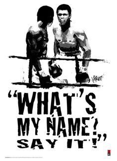 """I'm so mean, I make medicine sick"" - RIP The Greatest Muhammad Ali Quotes, Muhammad Ali Boxing, Boxe Mma, Boxe Fight, Boxing Posters, Float Like A Butterfly, Boxing Champions, Black Art Pictures, Black Artwork"