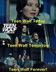 Me whenever I watch teen wolf