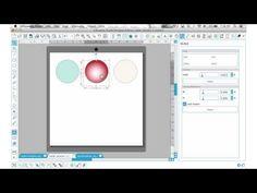 Using Radial Gradient PNG Files in Silhouette Studio