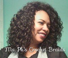 Freetress Deep Twist styled by Ms. Pk's Crochetbraids Ga #mspkscrochetbraids #crochetbraids #protectivestyles