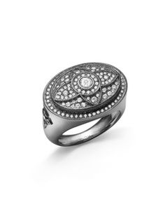 Stone Paris - Royal affair bague or noir et diamants