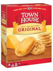 Keebler® Town House® Original crackers - my favorite crackers for everything!!