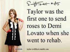 Swift fact. Awwwwww thats so sweet