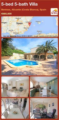 5-bed 5-bath Villa in Benissa, Alicante (Costa Blanca), Spain ►€685,000 #PropertyForSaleInSpain