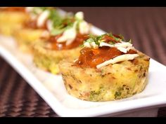 Savory Muffin Recipe - Easy Tasty Eggless Muffins With Potato, Cheese & Corn - YouTube