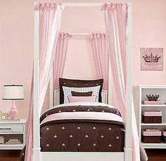 Hermosas Recámaras en Chocolate y Rosa para Mujeres | Decoración Dormitorios y Habitaciones